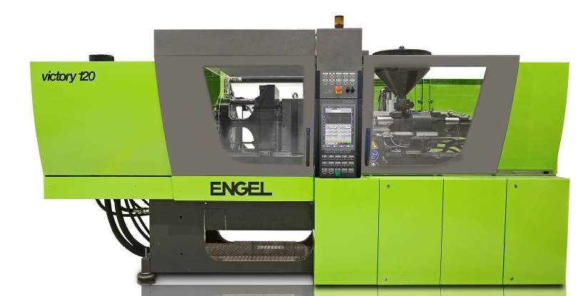 140-ton Engel injection molding machine (2K option)